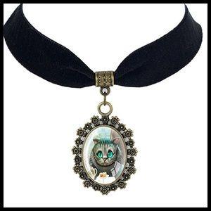 Jewelry - 🆕 Cheshire Cat Choker Statement Necklace